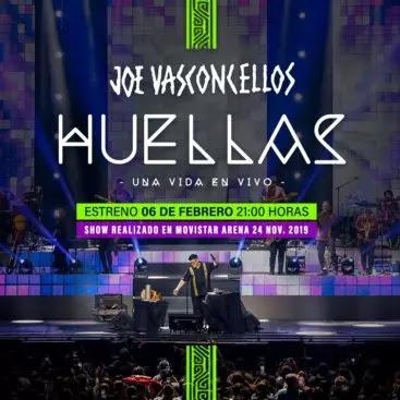 Revive el concierto de Joe Vasconcellos en Movistar Arena