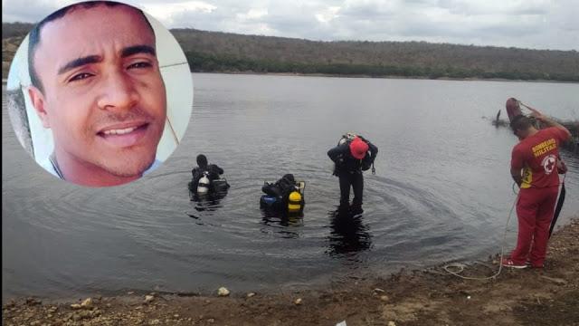 Corpo de jovem de Caatinga do Moura é localizado na barragem de Taquarendi de Mirangaba