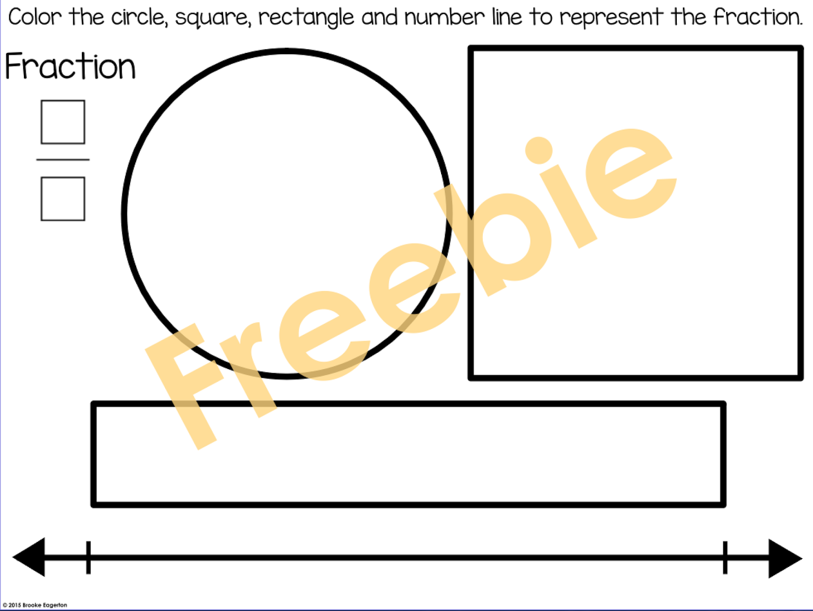 Tales From A Fourth Grade Mathnut Fraction Freebie
