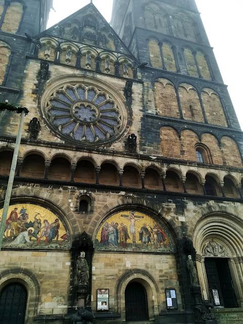 Fasada katedry w Bremen