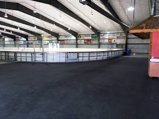 Greatmats rubber flooring hockey arena