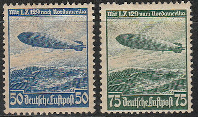 Germany 1936 Reich Airship Hindenburg Zeppelin