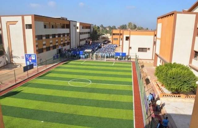 افتتاح مدرسة محمد صلاح الثانوية الصناعية العسكرية بمركز بسيون، بعد إعادة تأهيلها وتطويرها