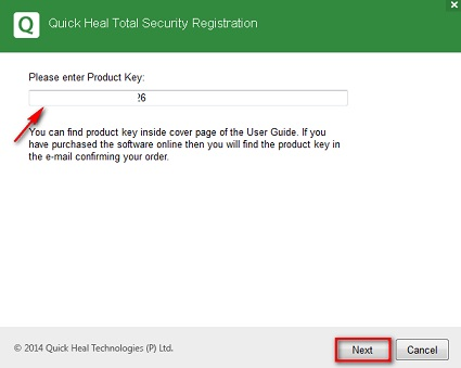 quick heal total security 2017 product key free download pdf