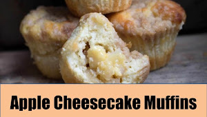 #Monday #Recipe #Apple #Cheesecake #Muffins