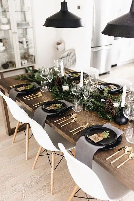 simple new year table idea (perfect for last minute)