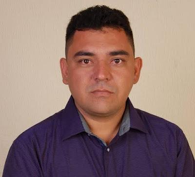 """Vereador """"Panta"""", presidente da Câmara Municipal de Canindé"""