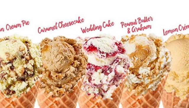 bruster's ice cream menu nutrition