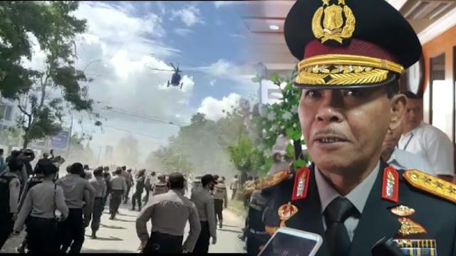 Geram Helikopter Polisi Bubarkan Demo, Kapolri: Jika Boleh Saya Tempeleng Itu
