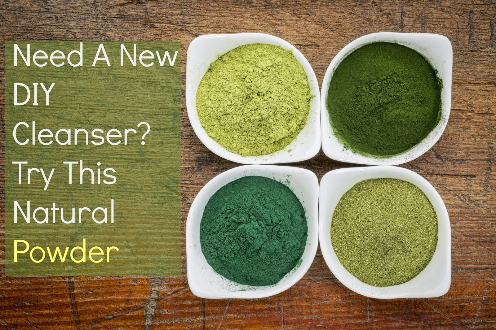Need A New DIY Cleanser? Try This Natural Powder