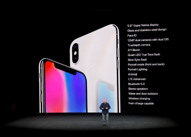 Apple iPhone 8, 8 Plus and iPhone X