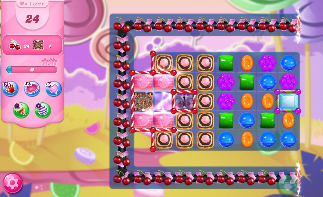 Candy Crush Saga level 6972