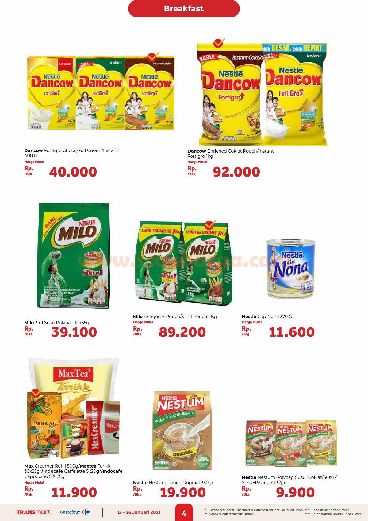 Katalog Promo Carrefour Transmart 13 - 26 Januari 2021 4