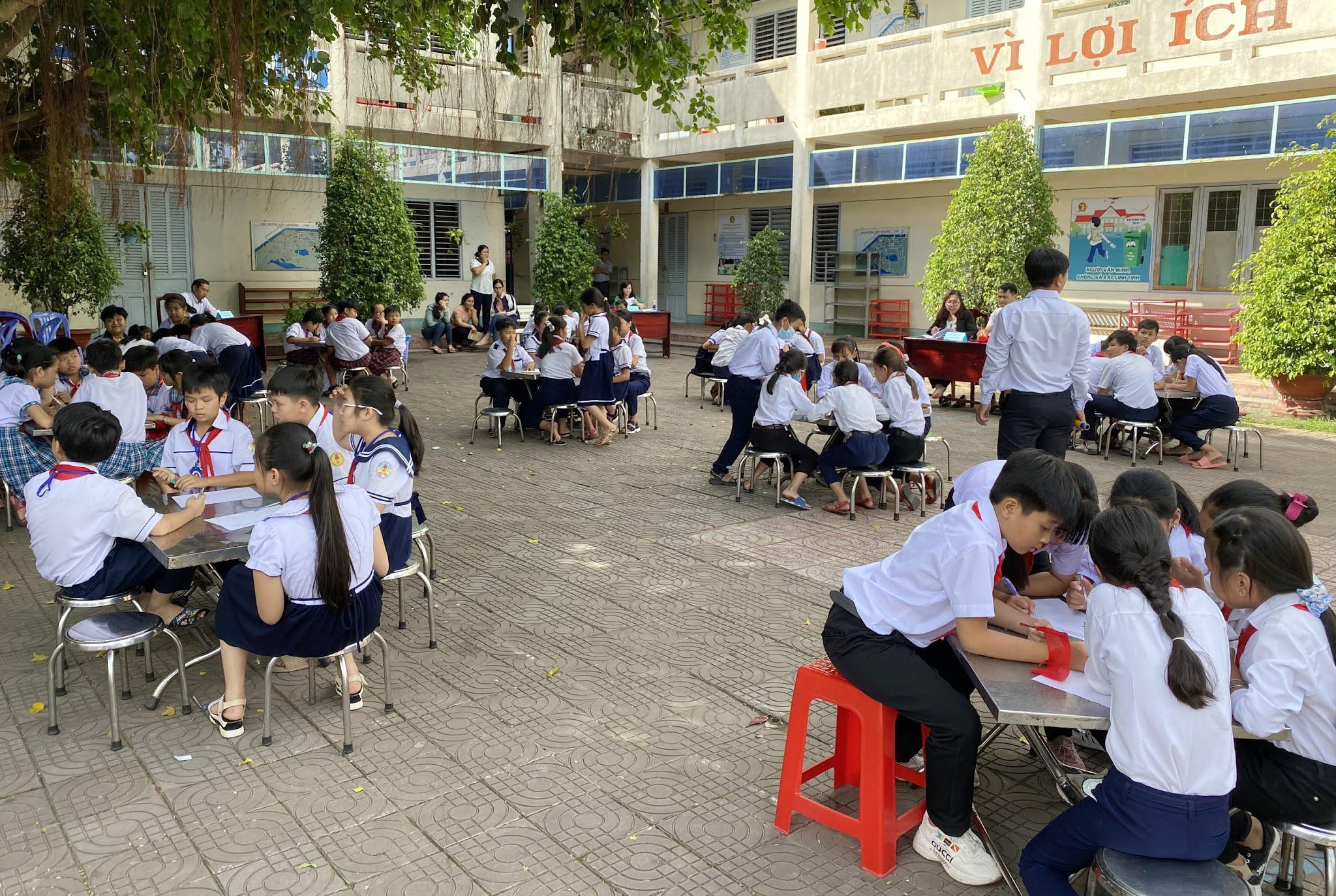 Hội thi Olympic Toán tuổi thơ năm học 2020-2021
