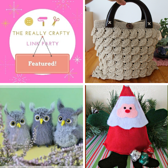 The Really Crafty Link party #196 featured posts