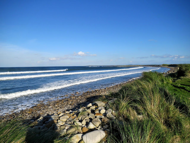Travel Ireland by Train from Dublin: Wild Atlantic Way at Strandhill Sligo