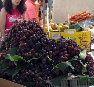 uvas na Feira de Espinho