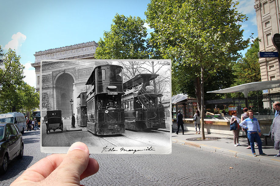 old newparis past now photography julien knez 1 - Pictures No Longer Valued As Digital Images Proliferate