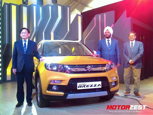 Maruti Launches The Vitara Brezza In India At INR 6,99,000