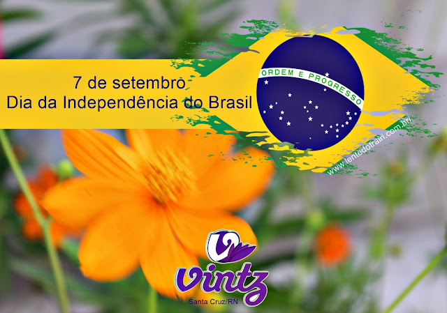 A Vintz Santa Cruz estará fechada hoje sábado  (07), devido ao feriado da Independência do Brasil, retornando suas atividades na segunda-feira (09), em horário normal