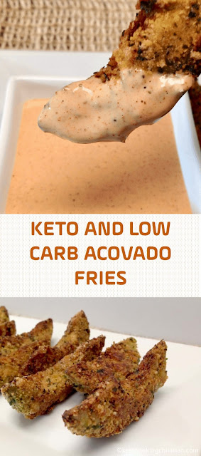 KETO AND LOW CARB ACOVADO FRIES