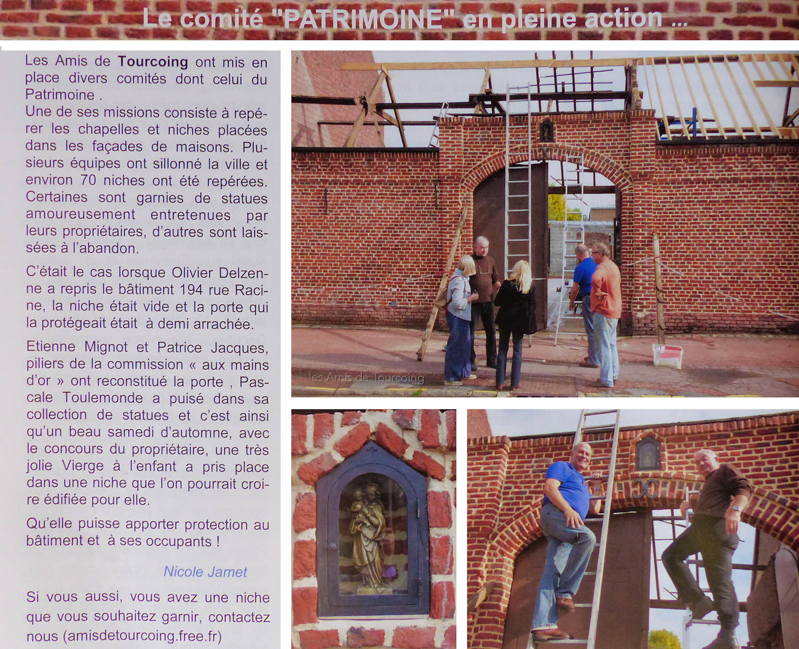 Magazine Brouette Tourcoing - Niches