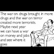 The American War on Drugs became the Global War on Terror... What's next?