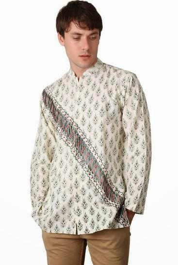 Desain baju koko batik muslim remaja modis