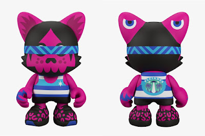 """Pleiades Edition"" Ovnik SuperJanky 8"" Vinyl Figure by Pete Fowler x Superplastic"