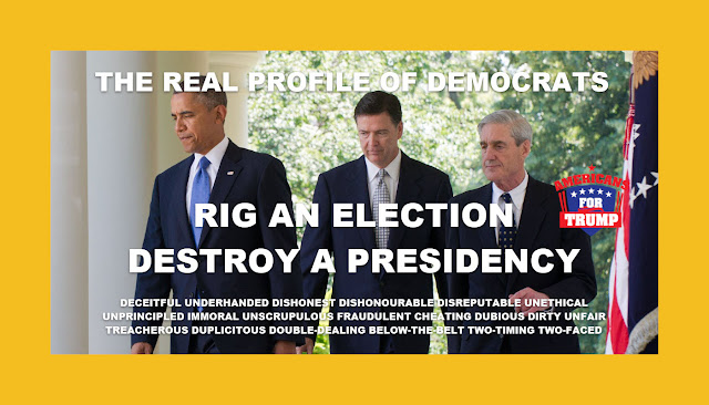 Memes: DEMOCRATS RIG AN ELECTION AND DESTROY A PRESIDENCY