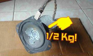 """Kuat Menjepit speaker 4"""" ½ kg"""