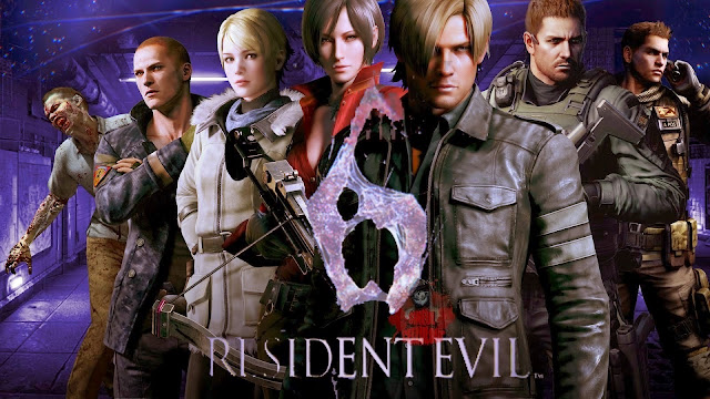 New Download Games Resident Evil 6 + Apk Games Android