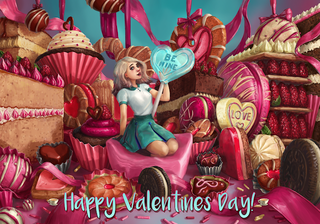 Happy Valentine's Day by Naomi Robinson