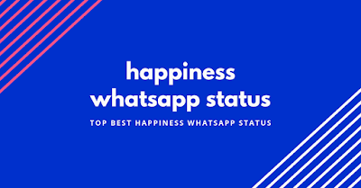 happiness whatsapp status
