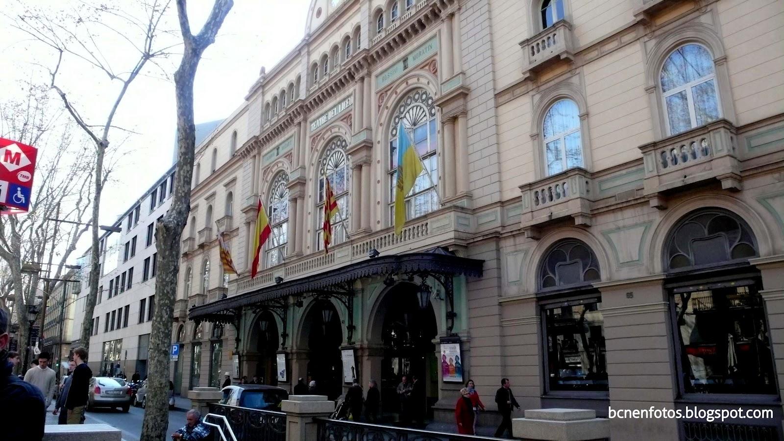 Mi barcelona las ramblas iv rambla de los capuchinos y - Calle boqueria barcelona ...