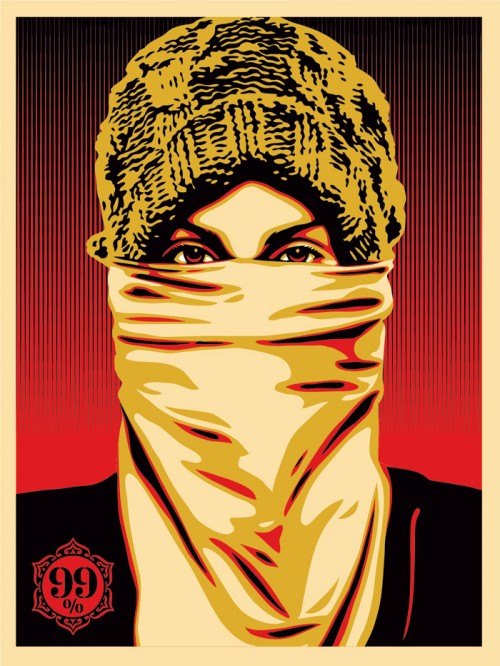 INSIDE THE ROCK POSTER FRAME BLOG: Shepard Fairey Obey Giant Occupy ...