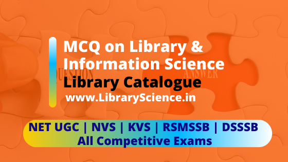 MCQ Library Science