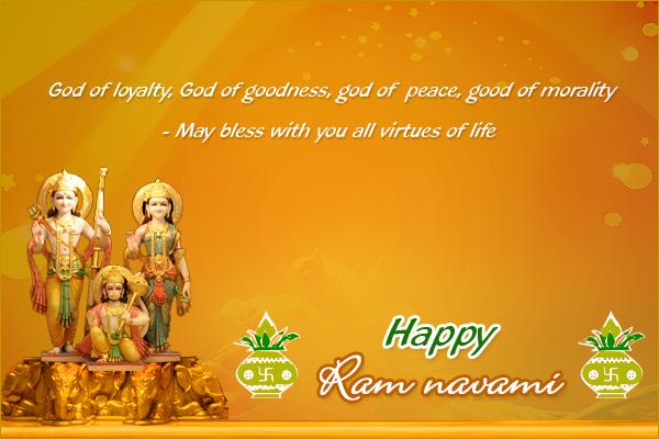 Ram Navami Wishes Sms