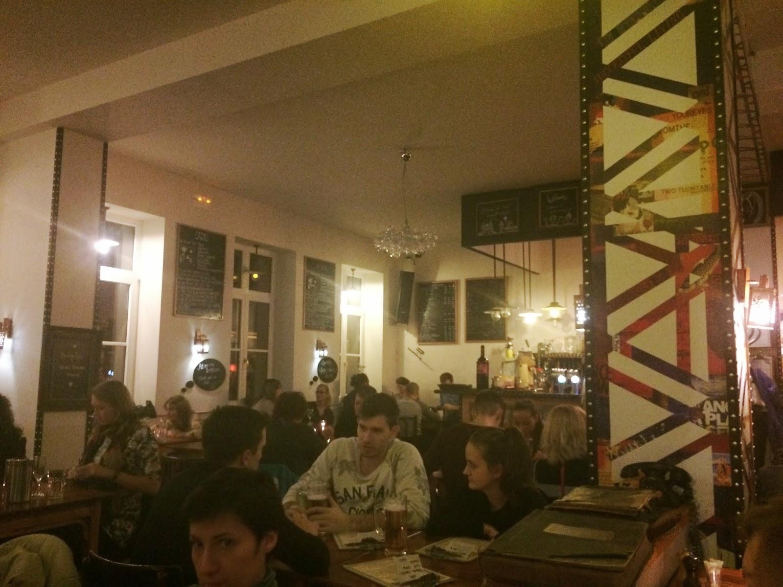 Inside Koleves restaurant, Budapest