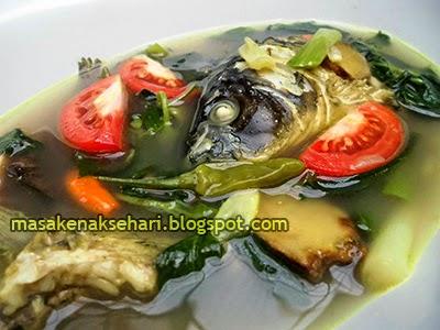 Resep Cara Membuat Sup Ikan Mas Kuah Bening Segar