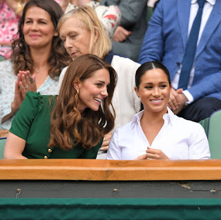 Duchess of Sussex attends wimbledon for the 2nd time