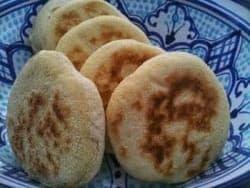 طريقه عمل الخبز المغربى البطبوط
