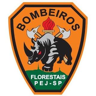 Logo do Corpo de Bombeiro Florestal Voluntário de SP (CBFV-SP)