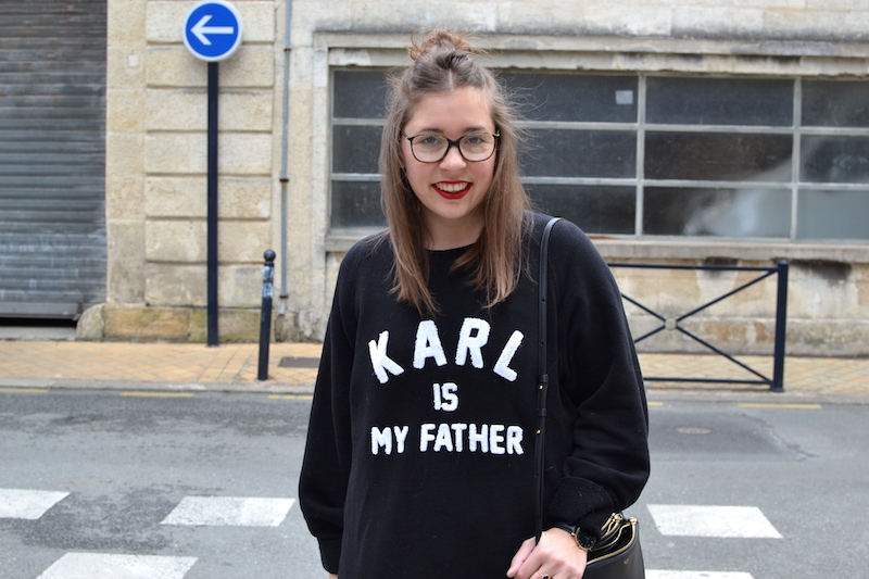"sweat eleven paris ""Karl is my father"""