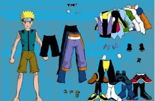 Game thời trang Naruto hài hước