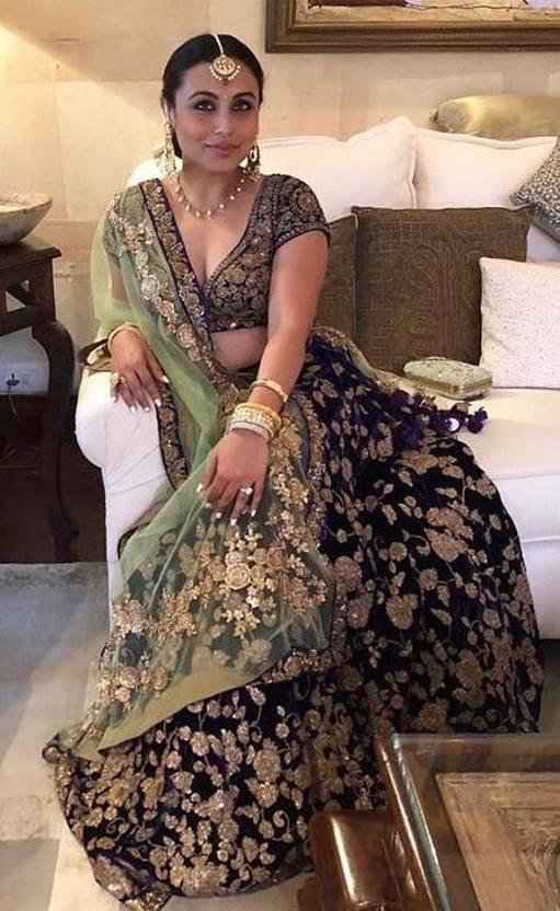 Rani Mukherjee in SabyaSachi Lehenga