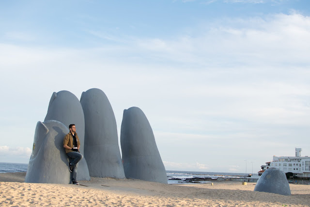 la mano punta del este uruguai