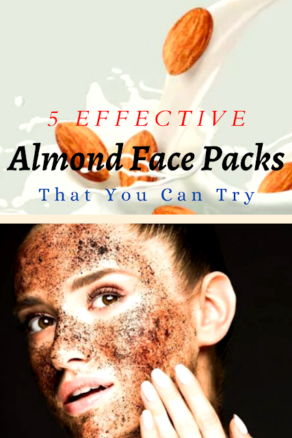 Effective Almond Face Packs That You Can Try