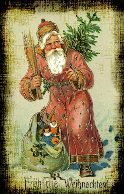 Belsnickel St. Nick Pennsylvania Dutch Santa
