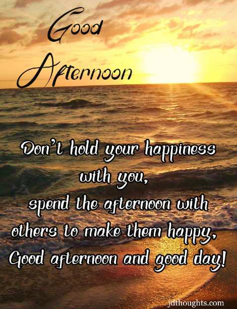 Good afternoon messages for WhatsApp